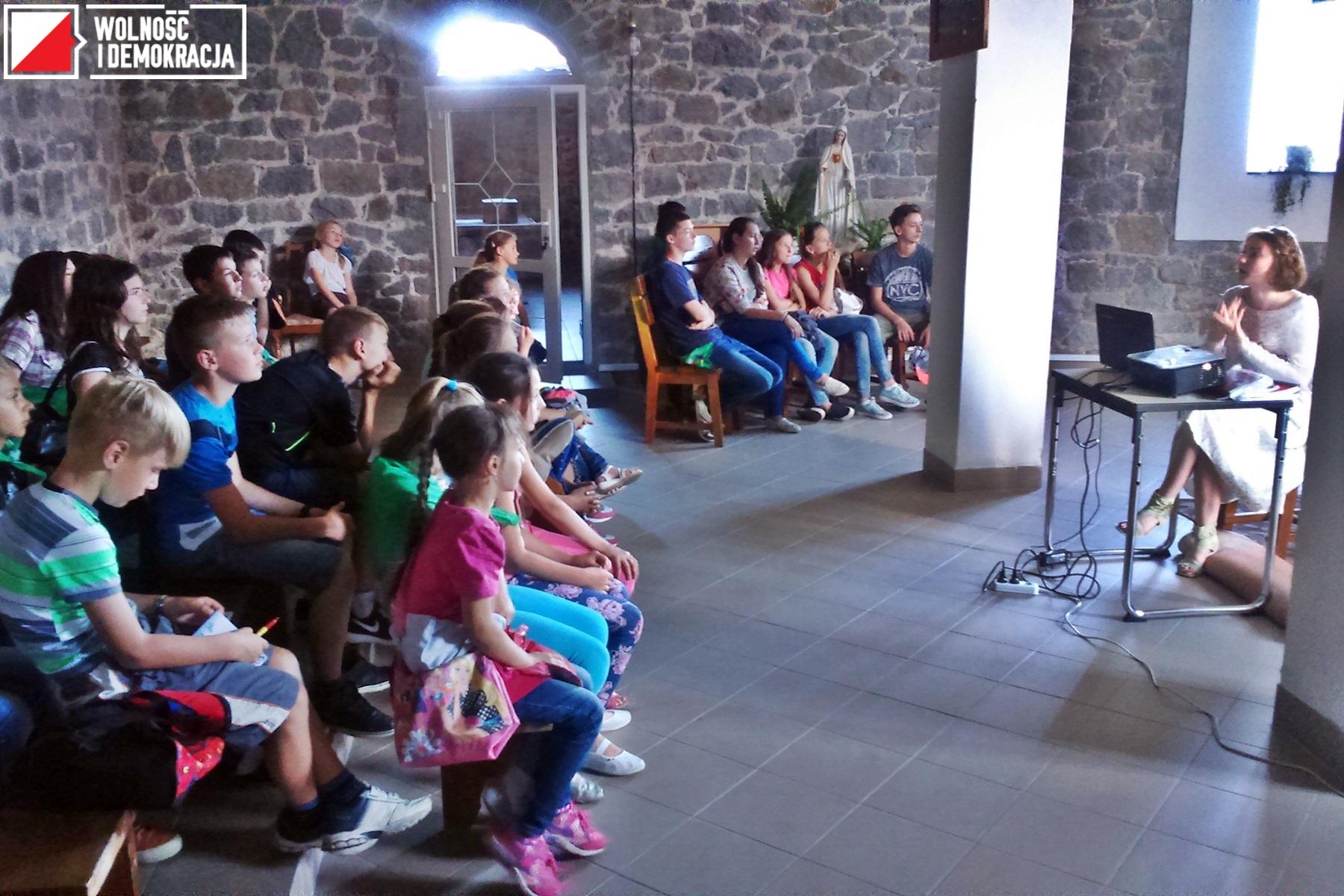 Zajęcia Szkoły Letniej w Sarnach