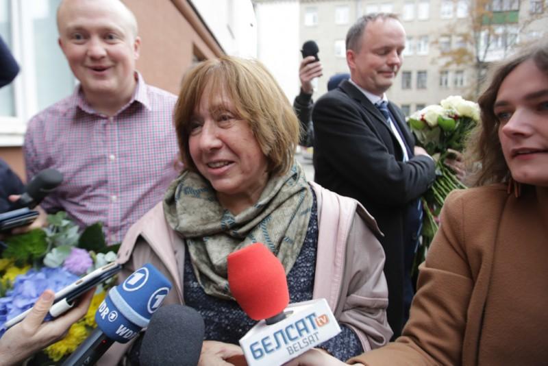 Noblowski tydzień ze Swiatłaną Aleksijewicz wkrótce online w Biełsacie!