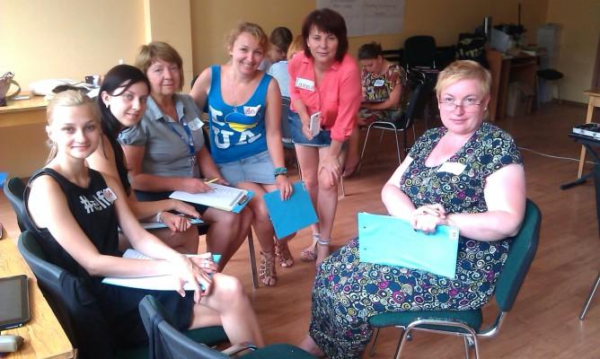 Trwa wizyta studyjna nauczycieli języka polskiego z Ukrainy