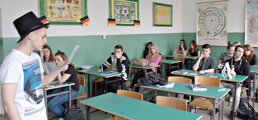 Warsztaty o przedsiębiorczości w warszawskim Liceum Ogólnokształcącym im. Marii Jasnorzewskiej Pawlikowskiej