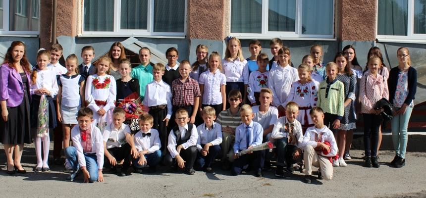 Nowy rok szkolny i Narodowe Czytanie w Izjasławju