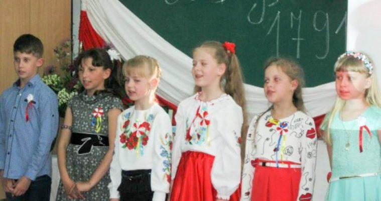 Polacy ze Sławuty świętowali 3 maja