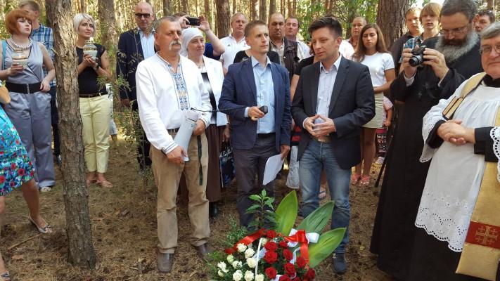 Upamiętnienie powstańców styczniowych w Mińkowcach