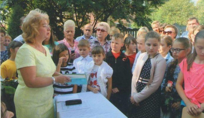 Nowy rok szkolny w polskiej szkole w Złoczowie