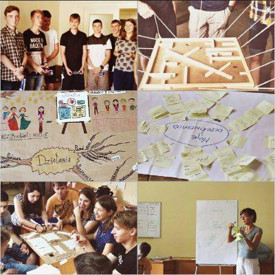 Młodzież z Browar stworzyła w Polsce projekt