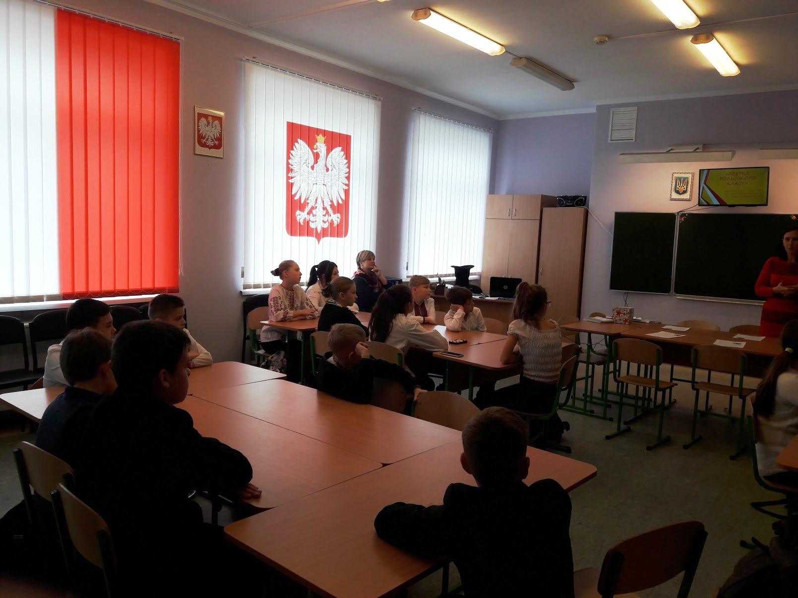 Wizytacja szkół na Ukrainie