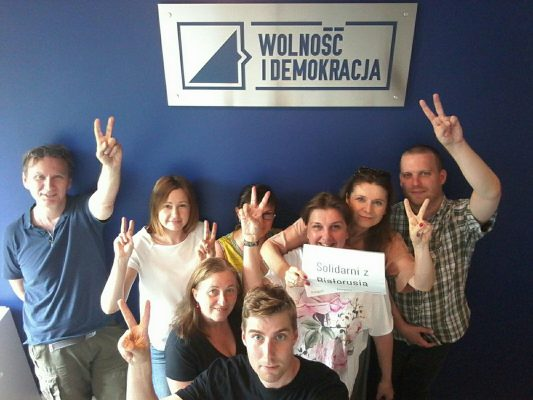 Międzynarodowy Dzień Solidarności ze społeczeństwem obywatelskim Białorusi