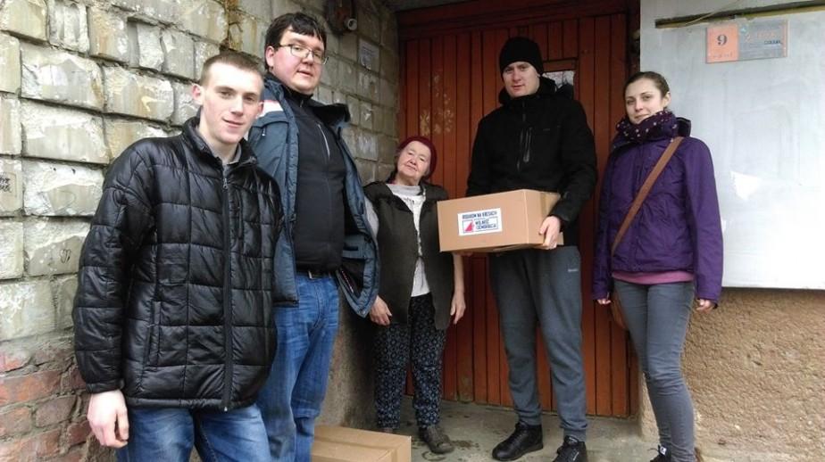 Wielkanocna Akcja Paczka na Ukrainie – Sambor i Gródek Jagielloński