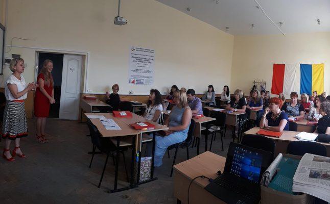 Warsztaty dla polonistów w Winnicy