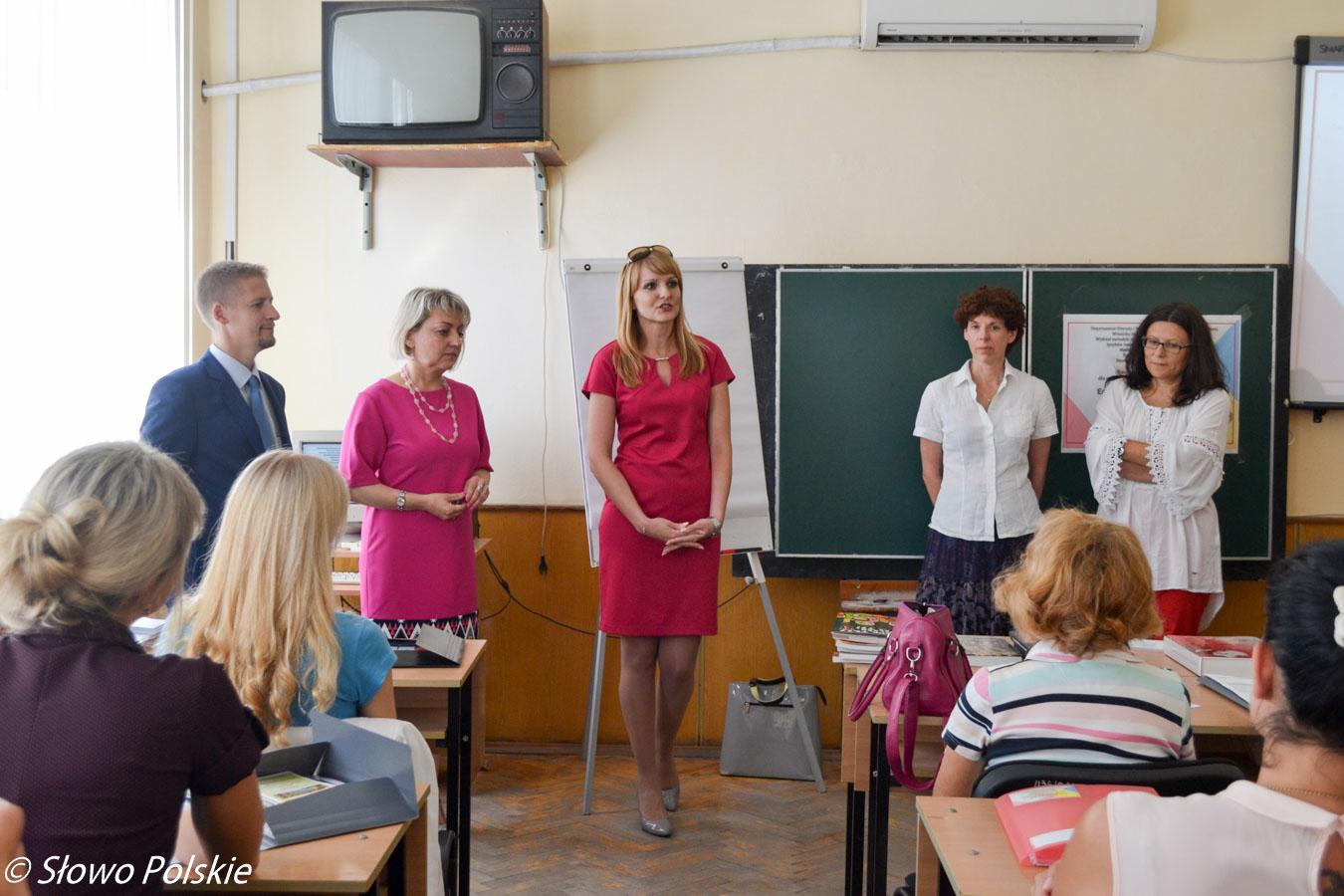 W Winnicy odbyły się warsztaty dla polonistów