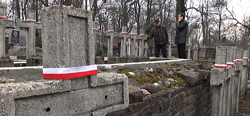 Wiosenne porządki na polskich cmentarzach na Ukrainie