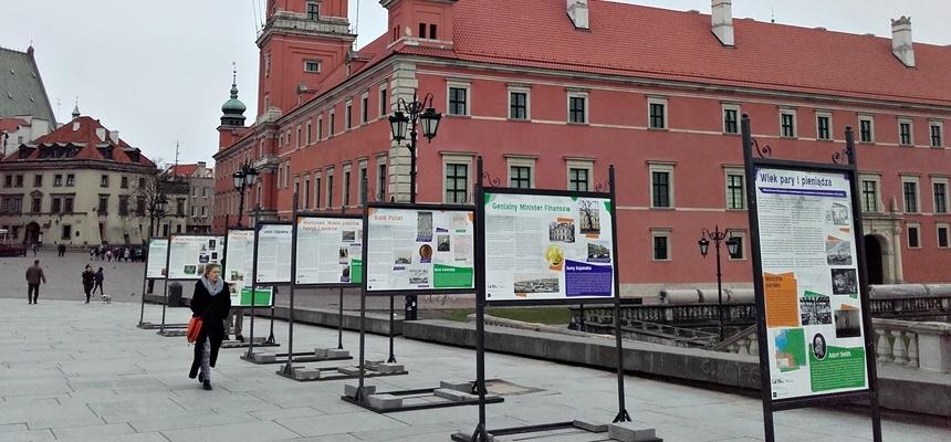 """Wystawa """"Wiek pary, elektryczności i ekonomii"""" w Warszawie"""