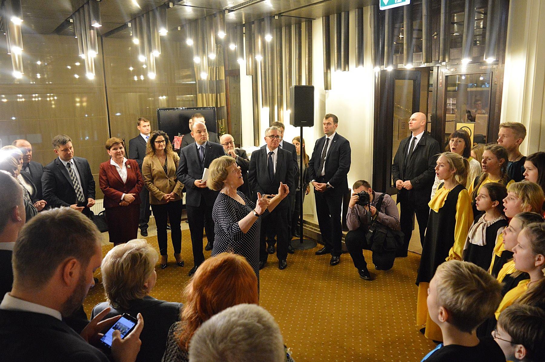 Spotkanie premier Beaty Szydło z Polakami ze Wschodu
