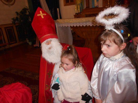 Święty Mikołaj gościł w Sławucie