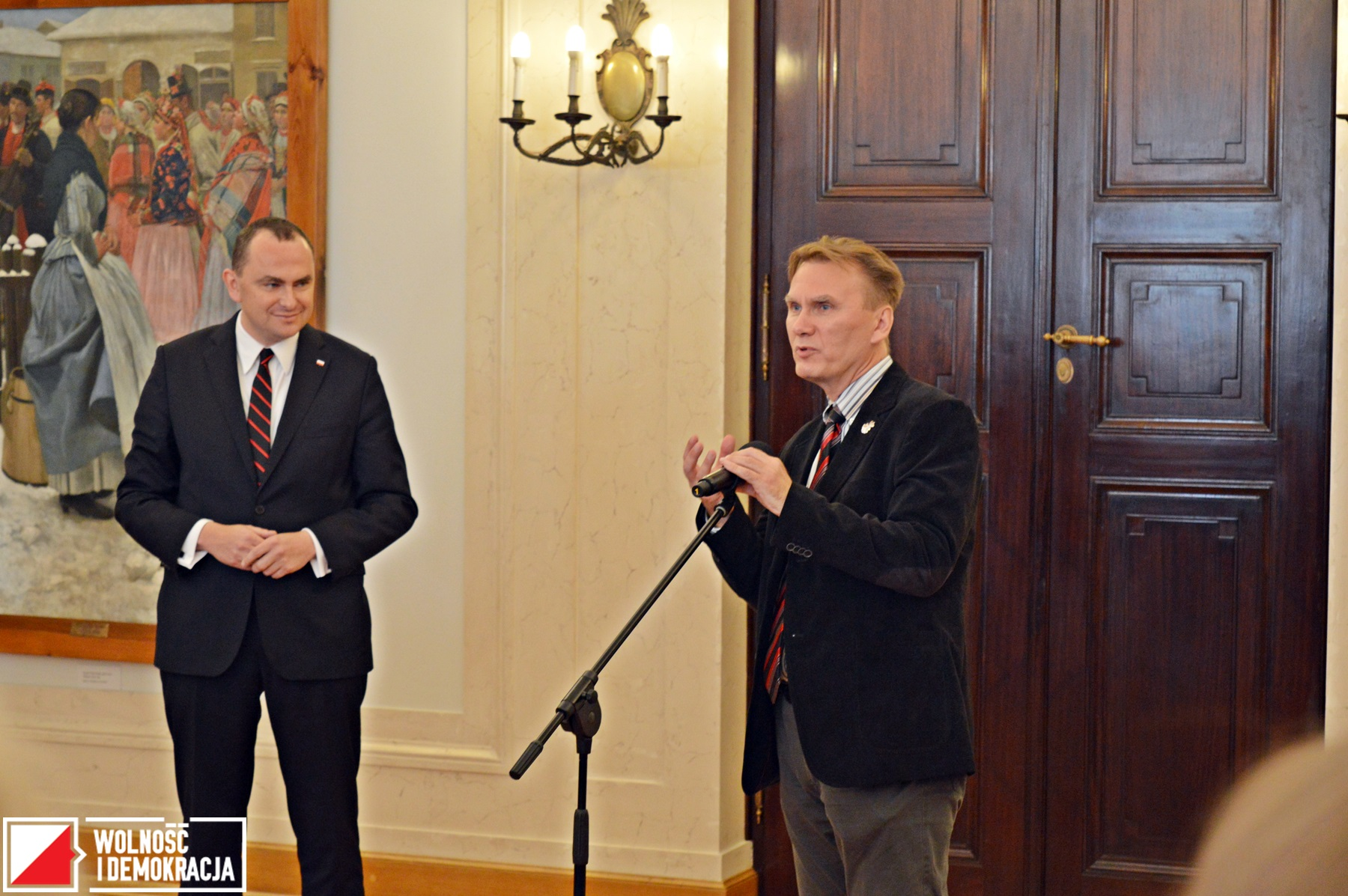 Nauczyciele z Białorusi i Ukrainy z wizytą w Pałacu Prezydenckim