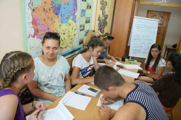 Szkoła letnia w Biłohirii