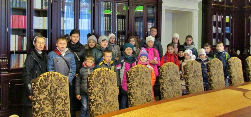 Dzieci z Kamionki Buskiej poznają Lwów po polsku