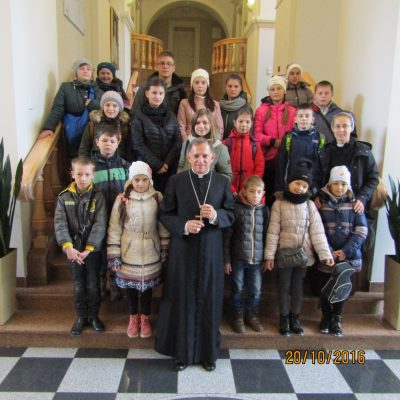 Dzieci z Kamionki Buskiej na polskiej wycieczce we Lwowie
