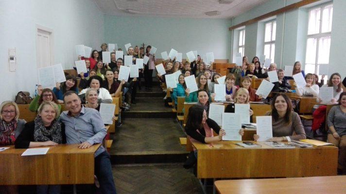 """Pierwsze warsztaty """"Jak uczyć Polski i polskiego na Ukrainie"""" już za nami"""