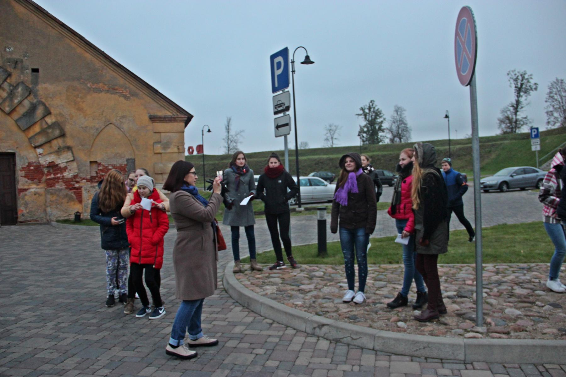 Historyczna gra terenowa w Twierdzy Dyneburg