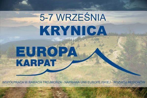 """""""Europa Karpat"""" w ramach XXVII Forum Ekonomicznego w Krynicy"""