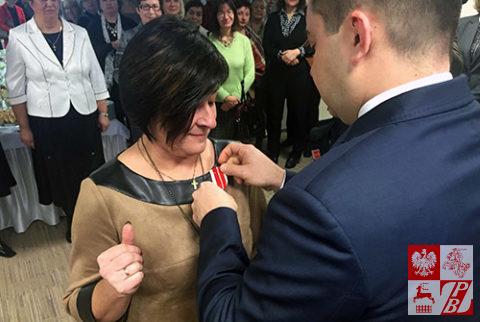 Nauczycielki języka polskiego na Białorusi uhonorowane medalami