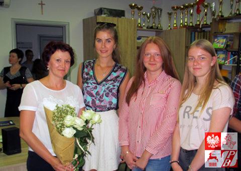 Rozpoczęcie roku szkolnego w polskiej szkole w Brześciu