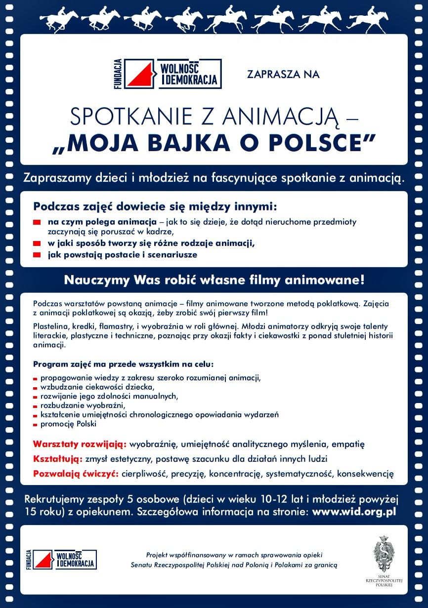 Ruszyła rekrutacja do projektu Moja bajka o Polsce