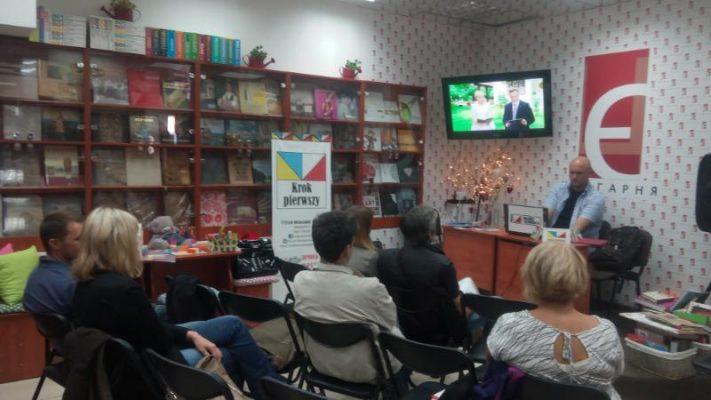 """Narodowe Czytanie """"Wesela"""" w Dnipro"""