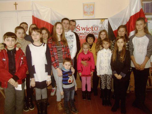 Święto 11 Listopada w Podwołoczyskach