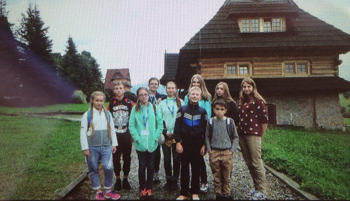 Dzieci ze Zdołbunowa odwiedziły Małopolskę