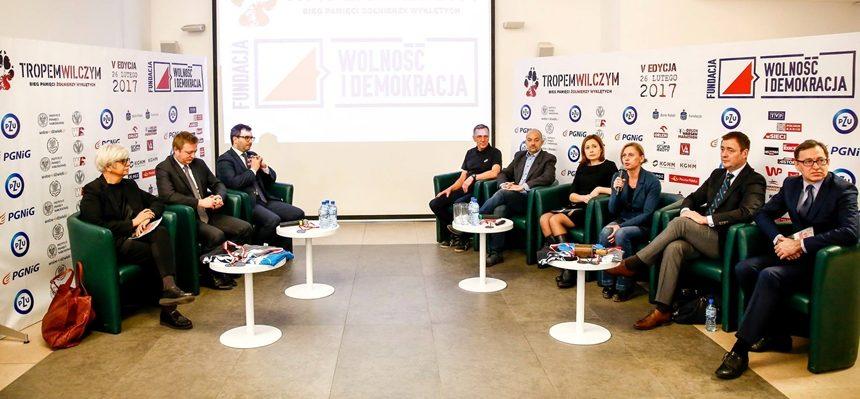 """Konferencja prasowa """"Tropem Wilczym"""""""