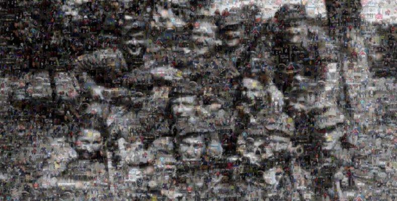 """Mozaika ze zdjęć biegaczy """"Tropem Wilczym"""" gotowa!"""