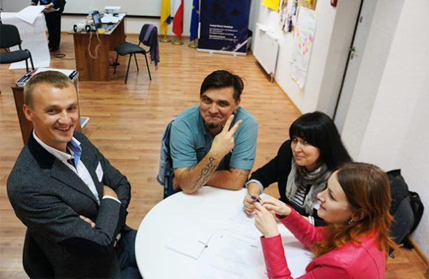 Szkolenia polskich organizacji na Ukrainie